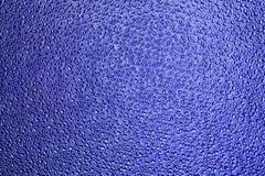 Blaues strukturiertes Fenster Stockfoto