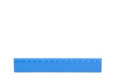 Blaues Tabellierprogramm. Stockfoto