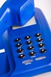 Blaues Telefon Stockbilder