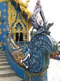 blaues Tempel chaingrai Lizenzfreie Stockfotografie