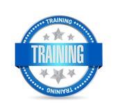 blaues Trainingsdichtungs-Illustrationsdesign Lizenzfreie Stockfotografie