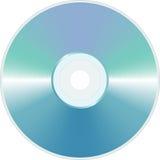 Blaues unbelegtes CD Stockfoto