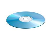 Blaues und grünes CD Lizenzfreies Stockfoto