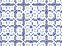 Blaues und graues Muster Lizenzfreies Stockfoto