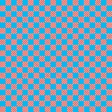 Blaues und rotes Beschaffenheitsschachmuster lizenzfreie abbildung