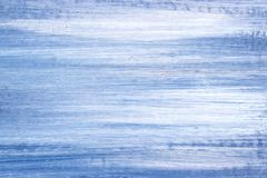 Blaues und weißes Ölgemälde-Detail lizenzfreie stockbilder