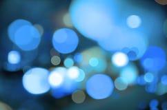 Blaues Unschärfe Stockfotos