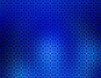 Blaues Unschärfen-geometrische Hintergrundtapete Stockfotos