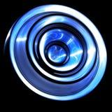 Blaues Unterseeboot Stockfoto