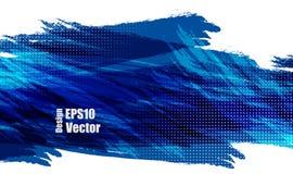 Blaues Vektordesign stock abbildung