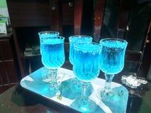 Blaues Wasser Stockfotos