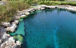 Blaues Wasser Lizenzfreies Stockfoto