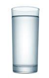 Wasser im Glas Lizenzfreie Stockfotos