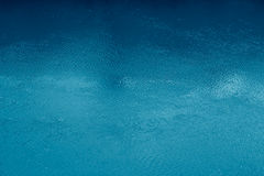 Blaues Wasser-Oberfläche lizenzfreie stockbilder