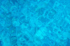 Blaues Wasser-Oberfläche Stockbilder