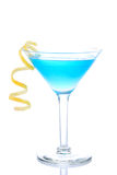 Blaues Weltcocktail Stockfotos