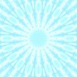 Blaues Wolkenhimmel-Kaleidoskopmuster nave lizenzfreie abbildung