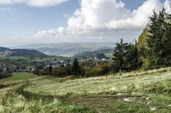 Blaufuss - Krahule. Geographic centrum of Europe stock photography