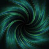 Blaugrüne gewundene Tapete Lizenzfreie Abbildung