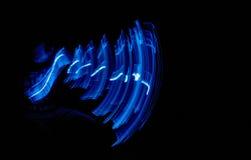 Blaulicht-Malerei Lizenzfreie Stockfotografie