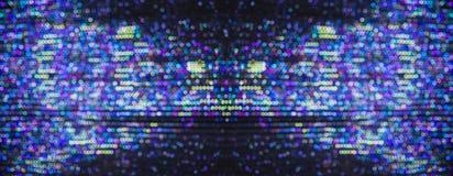 Blaulichtbeleuchtung Feiertags-Hintergrund-Weihnachten Stockfotografie