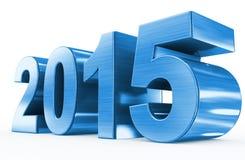 Blaumetall des Jahres 2015 Stockfotografie