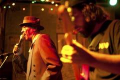 Blaumusiker, Mississippi Lizenzfreies Stockfoto