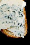 Blauschimmelkäsesandwich lizenzfreie stockfotos