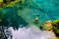 Blausee Lizenzfreies Stockbild