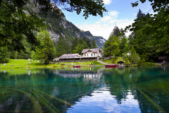 Blausee Lake Royalty Free Stock Image