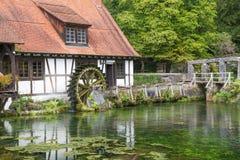 Blautopf in Blaubeuren. Swabia Germany royalty free stock photography