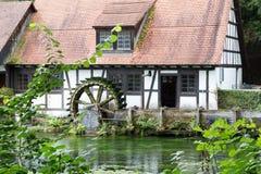 Blautopf in Blaubeuren. Swabia Germany royalty free stock images