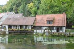 Blautopf dans Blaubeuren Image libre de droits