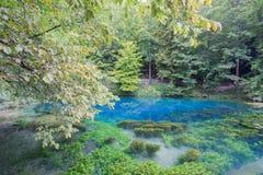 Blautopf i Blaubeuren Arkivbild