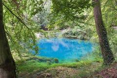 Blautopf i Blaubeuren Arkivfoton