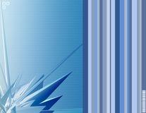 Blauw vector illustratie