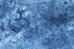 Blauw Abstract Art. royalty-vrije stock afbeelding
