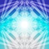 Blauw abstract licht Royalty-vrije Stock Fotografie