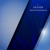Blauw Abstract Mesh Background Royalty-vrije Stock Fotografie
