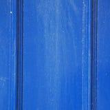 blauw abstract metaal in nglan Londen het traliewerkstaal van e en backgroun Stock Fotografie