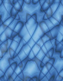 Blauw abstract op art. Stock Fotografie