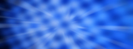 Blauw Abstract Panorama Backround Stock Afbeelding