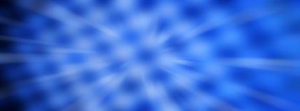 Blauw Abstract Panorama Backround stock afbeelding