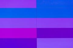 Blauw abstract patroon van gebrandschilderd glasvenster Royalty-vrije Stock Afbeelding