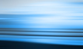 Blauw abstract strand Royalty-vrije Stock Foto's