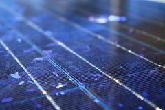 Blauw abstract zonnepaneel Royalty-vrije Stock Afbeelding
