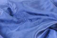 Blauw alpha- satijn stock afbeelding