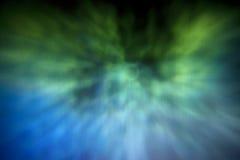 Blauw & groen behang Royalty-vrije Stock Afbeelding
