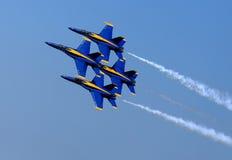 Blauw Angel Airshow in Robins AFB Stock Afbeeldingen