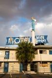 Blauw Angel Motel stock foto's
